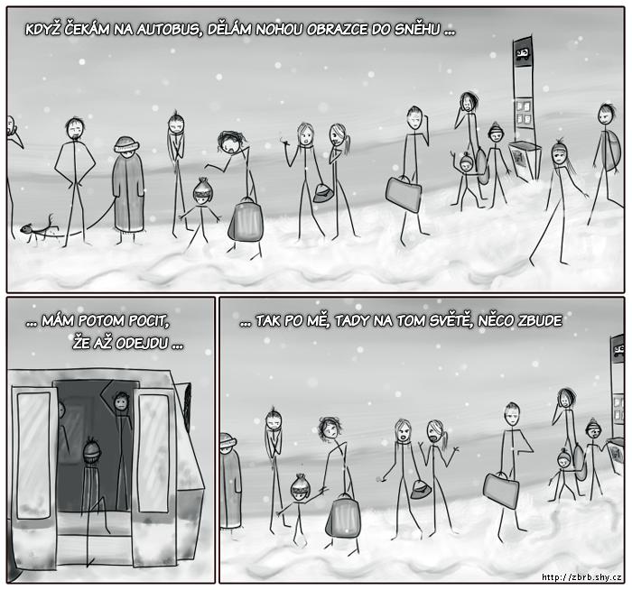 Odkaz ve sněhu